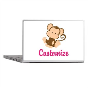 Personalize this adorable baby monkey Laptop Skins