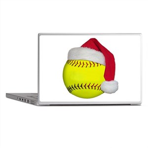 Softball Santa Laptop Skins