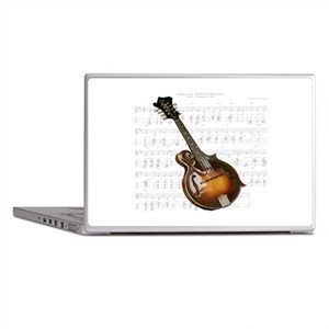 Mandolin and Sweet Music Laptop Skins
