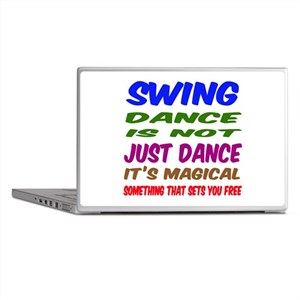 Swing dance is not just dance Laptop Skins