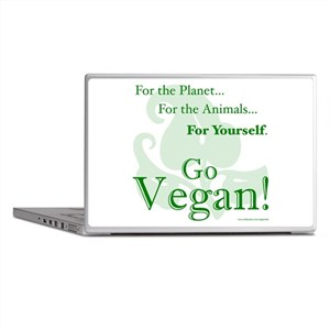 Go Vegan! Laptop Skins
