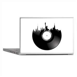 New York City Vinyl Record Laptop Skins