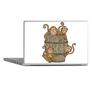 Barrel Monkey Laptop Skins