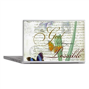 All things are possible Laptop Skins