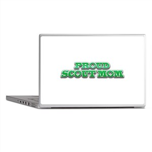 Proud Scout Mom Laptop Skins