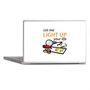 LIGHT UP YOUR LIFE Laptop Skins