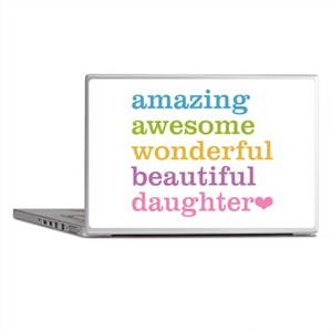 Amazing Daughter Laptop Skins
