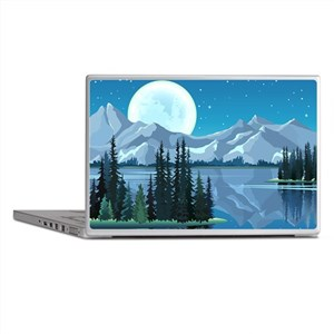 Mountain Sky Laptop Skins
