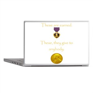 Purple Heart Laptop Skins
