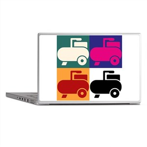 air compressor art Laptop Skins
