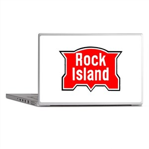 Rock Island Railway Laptop Skins