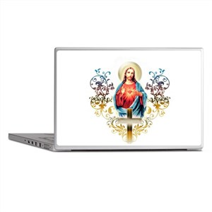 Sacred Heart of Jesus Laptop Skins