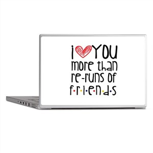 Love You More than Friends Laptop Skins