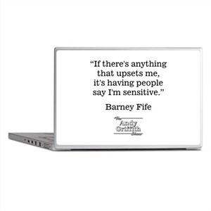 BARNEY FIFE QUOTE Laptop Skins