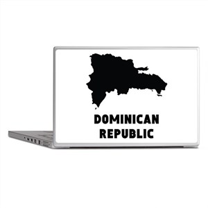 Dominican Republic Silhouette Laptop Skins