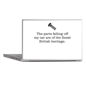 British Parts Laptop Skins