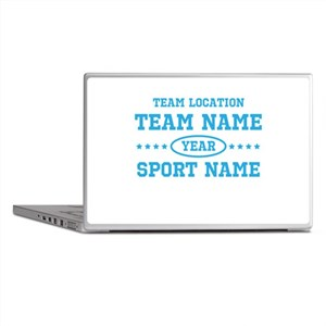 Sports Team Personalized Laptop Skins
