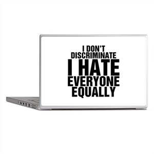 Hate Equally Laptop Skins