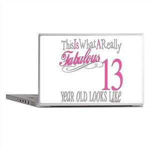 13th Birthday Gifts Laptop Skins