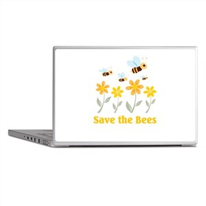 Save the Bees Laptop Skins