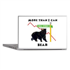More Than I Can Bear Market Laptop Skins