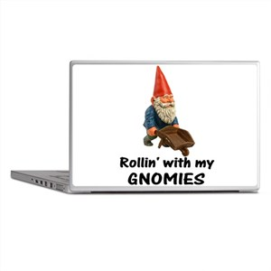 Rollin' With Gnomies Laptop Skins
