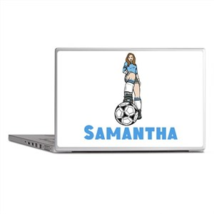 Personalized Soccer Laptop Skins