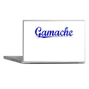 Gamache, Blue, Aged Laptop Skins