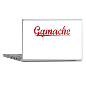 Gamache, Vintage Red Laptop Skins