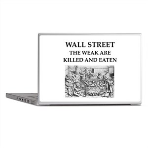 wall street Laptop Skins