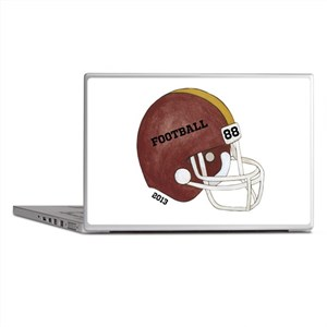 Football Helmet Laptop Skins