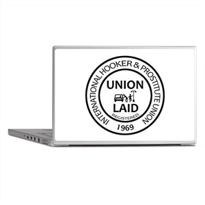 Union Laid Laptop Skins