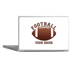 Personalized Name Footbal Laptop Skins