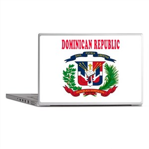 Dominican Republic Coat Of Arms Designs Laptop Ski