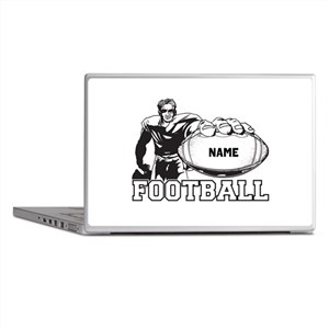 Personalized Football Player Laptop Skins
