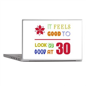 Funny 30th Birthday (Feels Good) Laptop Skins