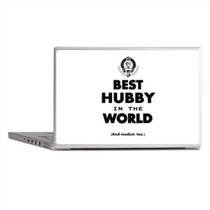 The Best in the World Best Hubby Laptop Skins