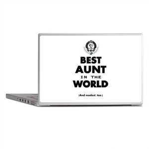 The Best in the World Best Aunt Laptop Skins