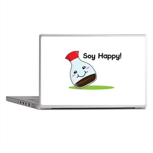 Soy Happy Laptop Skins