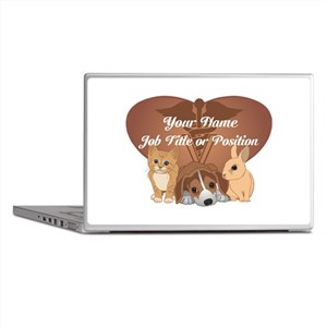 Personalized Veterinary Laptop Skins