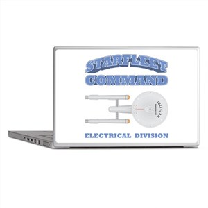 Starfleet Electrical Division Laptop Skins