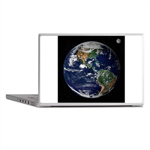 art Earth from space NASA Laptop Skins
