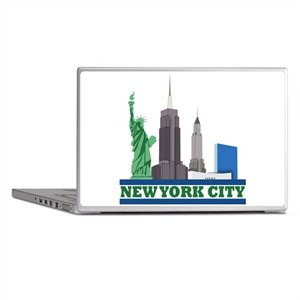 New York City Skyline Laptop Skins