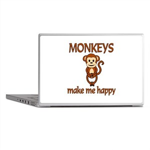 Monkey Happy Laptop Skins