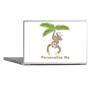 Personalized Monkey Laptop Skins