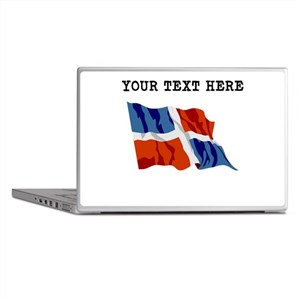 Custom Dominican Republic Flag Laptop Skins