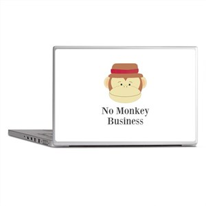 No Monkey Business Laptop Skins