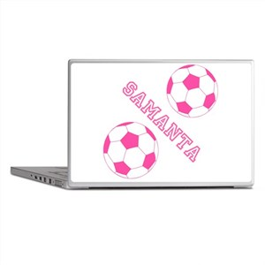 Soccer Girl Personalized Laptop Skins