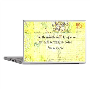 Funny Shakespeare Quotes Laptop Skins Cafepress