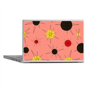 Atomic Era Art (Orange) Laptop Skins